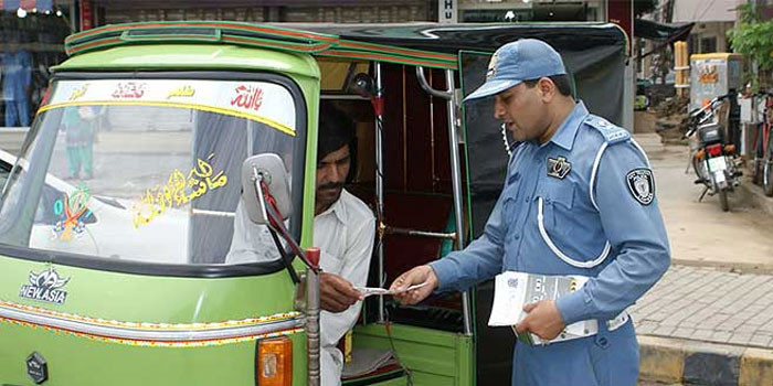 lahore traffic police