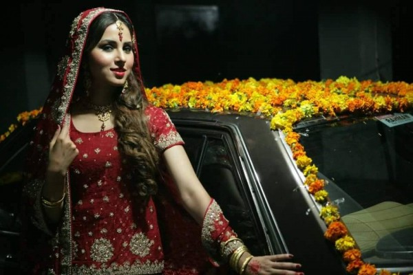 Nimra Khan Engagement Photo